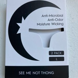 Zyia see me not thing white 2 pack large